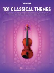 Various  Sheet Music 101 Classical Themes for Violin Song Lyrics Guitar Tabs Piano Music Notes Songbook