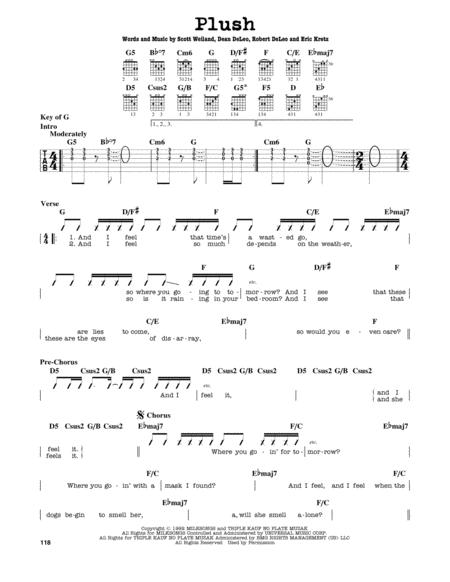 Stone Temple Pilots Sheet Music To Download And Print World Center