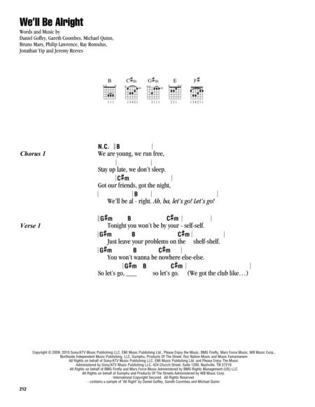 Travie McCoy sheet music to download and print - World center of ...