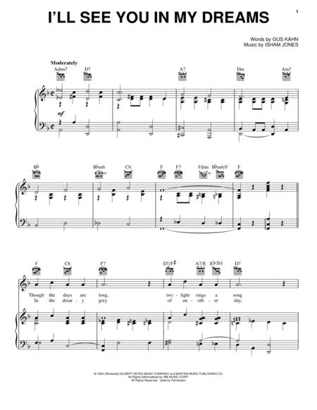 Isham Jones Gus Kahn Sheet Music To Download And Print World
