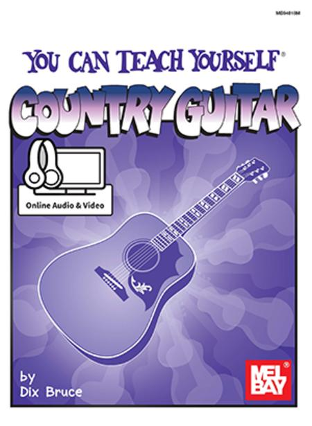 sheet music you can teach yourself country guitar guitar. Black Bedroom Furniture Sets. Home Design Ideas