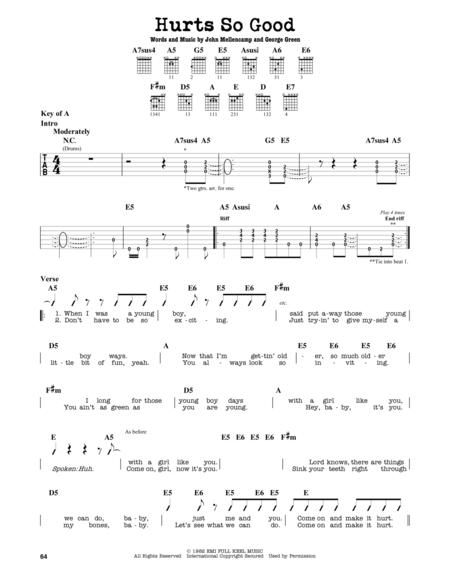 John Mellencamp Sheet Music To Download And Print World Center Of