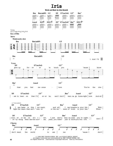 The Goo Goo Dolls sheet music to download and print - World center ...