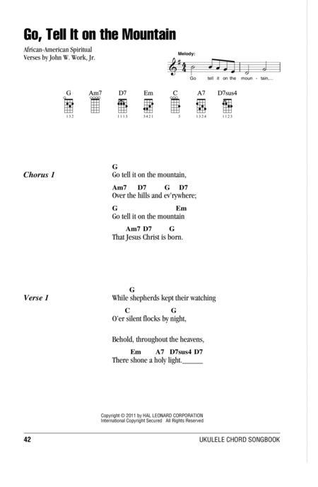 African-American Spiritual John W. Work Jr. sheet music to download ...