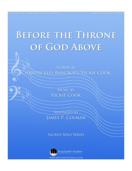 before the throne of god above icki cook pdf