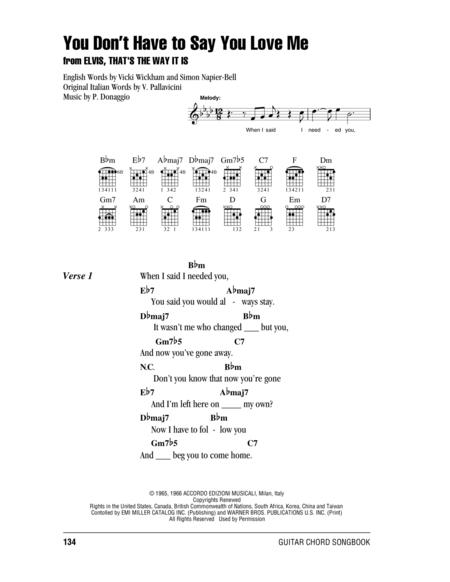 Partitions Digitales de Elvis Presley pour Paroles et Accords