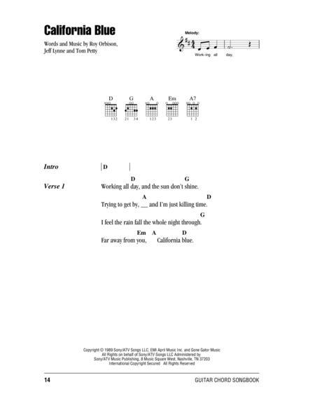Partitions Digitales de Roy Orbison pour Paroles et Accords