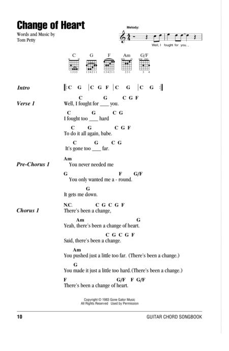 Tom Petty sheet music to download and print - World center of ...