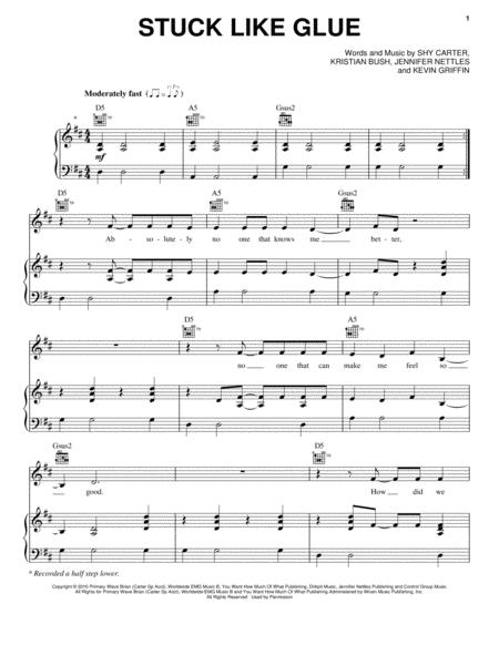 Sugarland Sheet Music To Download And Print World Center Of