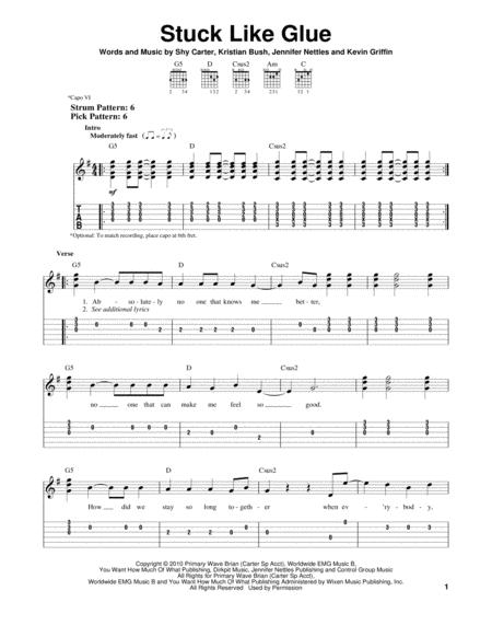 Sugarland sheet music to download and print - World center of ...