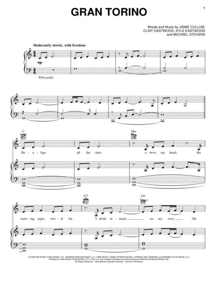 Clint Eastwood Clint Eastwood sheet music to download and print ...