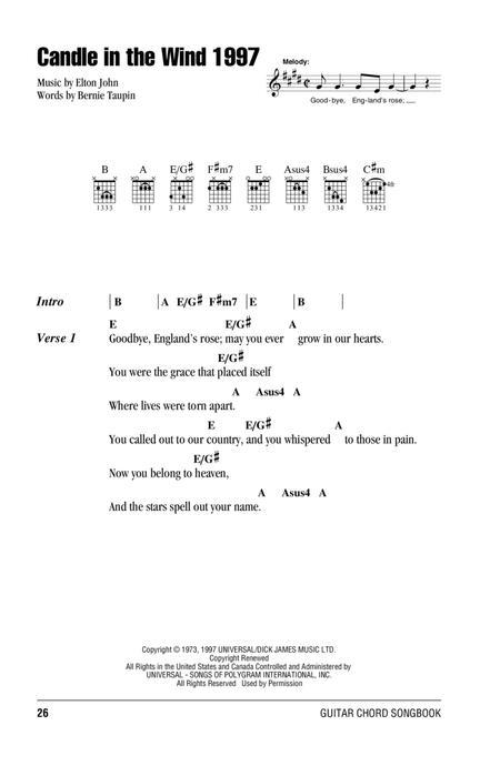 Download Digital Sheet Music for Lyrics and Chords
