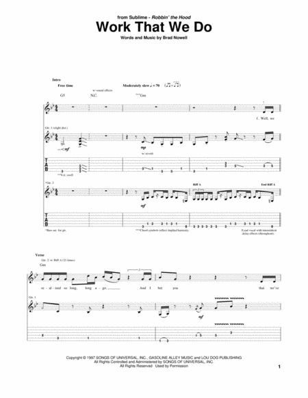 Sublime Sheet Music To Download And Print World Center Of Digital