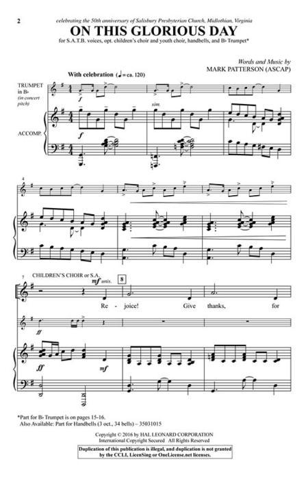 free satb sheet music pdf