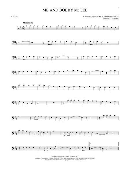 Janis Joplin sheet music to download and print - World center of ...