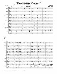 """John Philips  Sheet Music """"The Kindergarten Concert""""    String Orchestra     Heritage Series #3 Song Lyrics Guitar Tabs Piano Music Notes Songbook"""
