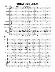 """""""Roaring 20's Medley""""-----String Orchestra-----Heritage Series # 7 sheet music"""