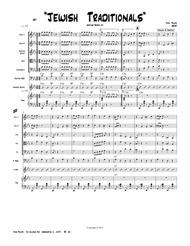 """John Philips  Sheet Music """"Jewish Traditionals Medley""""-----String Orchestra-----Heritage Series  # 15 Song Lyrics Guitar Tabs Piano Music Notes Songbook"""