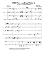 Matt Redman  Sheet Music 10,000 Reasons (Bless The Lord) (for Brass Quintet) Song Lyrics Guitar Tabs Piano Music Notes Songbook