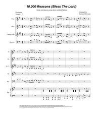 Matt Redman  Sheet Music 10,000 Reasons (Bless The Lord) (for Woodwind Quintet) Song Lyrics Guitar Tabs Piano Music Notes Songbook