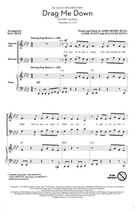drag me down marimba