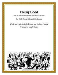 Feeling Good (Vocal Solo with Orchestra) sheet music