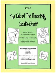 """The Tale of the Three Billy Goats Gruff"" - Score sheet music"