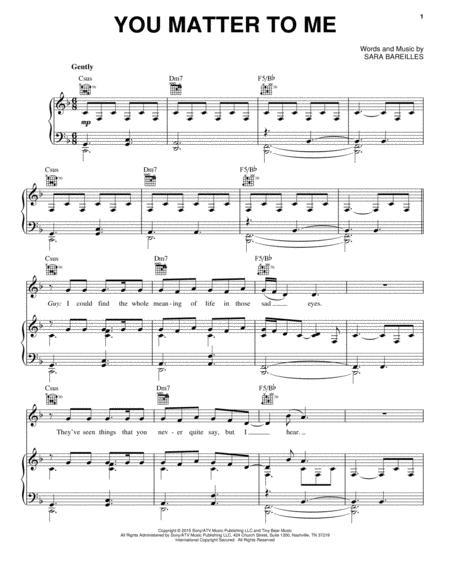 Sara Bareilles sheet music to download and print - World center of ...