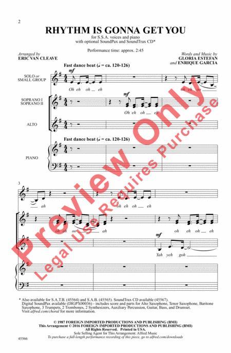 Rhythm Is Gonna Get You - Genius   Song Lyrics & Knowledge