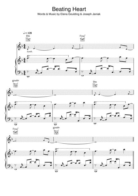 Ellie Goulding Sheet Music To Download And Print World Center Of