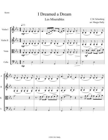 look down les miserables sheet music pdf