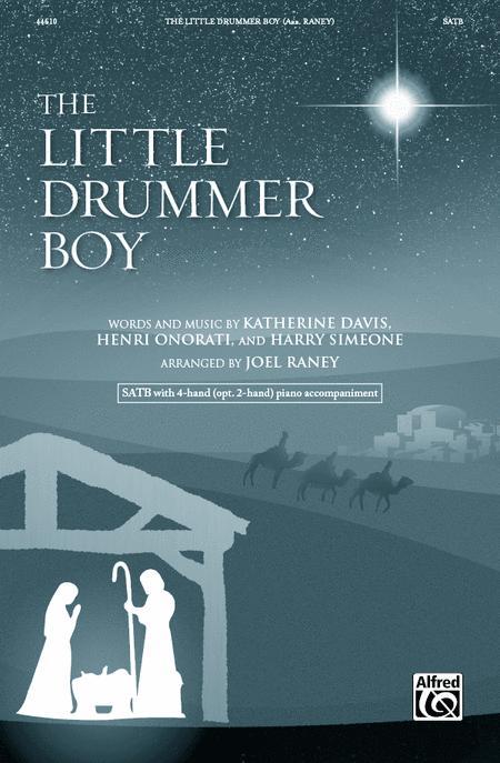 little drummer boy sheet music satb pdf