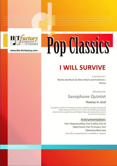 i will survive sheet music pdf free