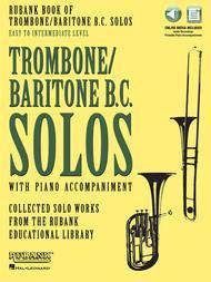 Rubank Book of Trombone/Baritone B.C. Solos - Easy to Intermediate sheet music