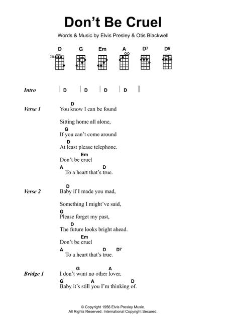 Download Digital Sheet Music of elvis presley for Piano, Vocal and ...