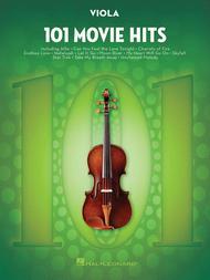 Various  Sheet Music 101 Movie Hits for Viola Song Lyrics Guitar Tabs Piano Music Notes Songbook