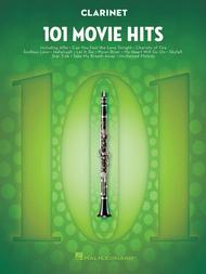 Various  Sheet Music 101 Movie Hits for Clarinet Song Lyrics Guitar Tabs Piano Music Notes Songbook