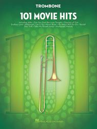 Various  Sheet Music 101 Movie Hits for Trombone Song Lyrics Guitar Tabs Piano Music Notes Songbook