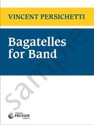 Bagatelles for Band sheet music
