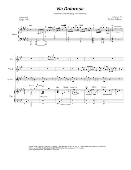 Dolorosa Sheet Music To Download And Print World Center Of Digital
