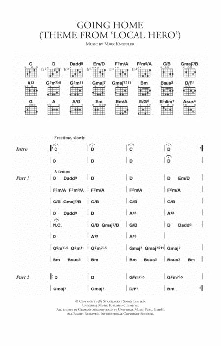 Mark Knopfler sheet music to download and print - World center of ...