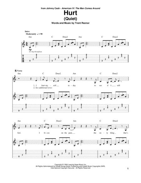 Nine-Inch-Nails sheet music to download and print - World center of ...