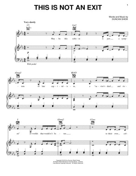 Download Digital Sheet Music Of Mass No8 For Piano Vocal And Guitar