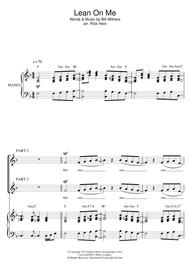 Download Digital Sheet Music of Bill Withers for Choral