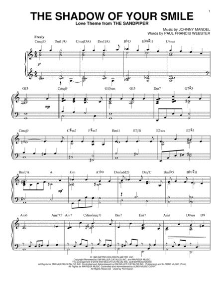 Johnny Mandel sheet music to download and print - World center of ...