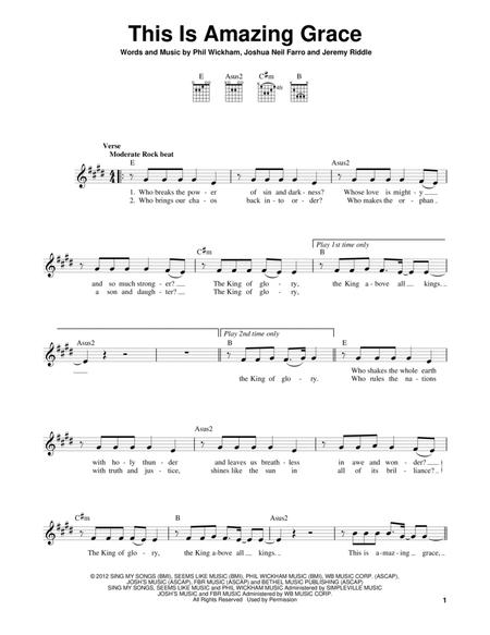 Phil Wickham sheet music to download and print - World center of ...