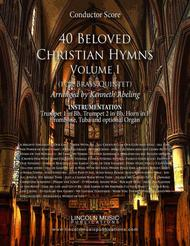 Religious - 40 Beloved Christian Hymns (for Brass Quintet) sheet music