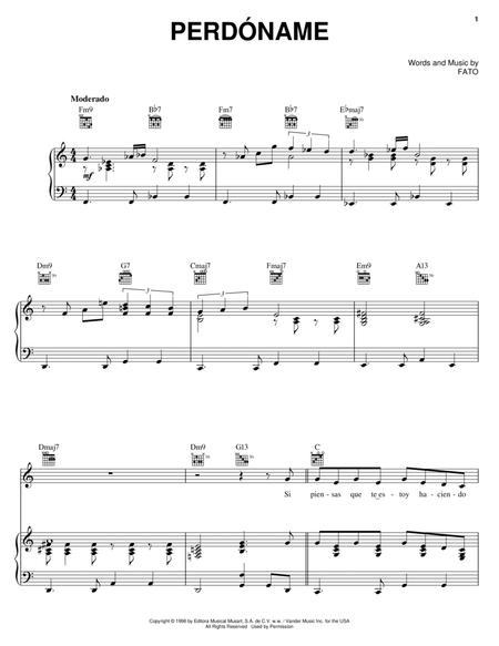 Latin Piano, Guitar (Chords) sheet music to download and print ...