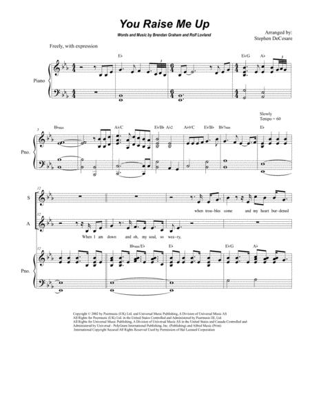 Download Digital Sheet Music For Vocal Duet Piano