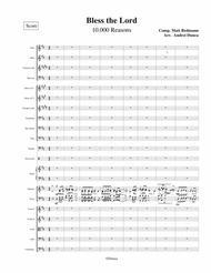 Matt Redmann  Sheet Music 10000 Reasons Song Lyrics Guitar Tabs Piano Music Notes Songbook